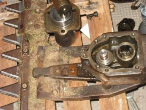 Messerbalken-Getriebe von Strum-Balkenmäher